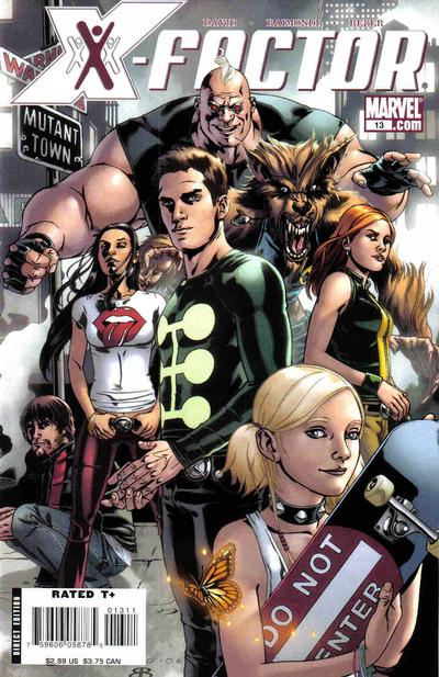 Cover for X-Factor (2006 series) #13