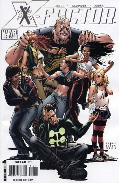 Cover for X-Factor (2006 series) #14