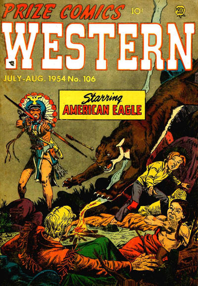 Cover for Prize Comics Western (Prize, 1948 series) #v13#3 (106)