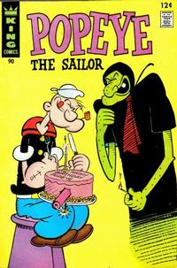 Cover Thumbnail for Popeye (King Features, 1966 series) #90