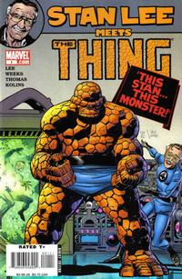 Cover Thumbnail for Stan Lee Meets The Thing (Marvel, 2006 series) #1