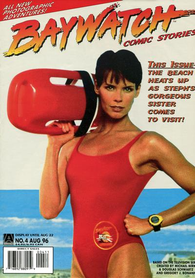 Cover for Baywatch Comic Stories (1996 series) #4