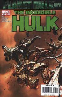 Cover Thumbnail for Incredible Hulk (Marvel, 2000 series) #102
