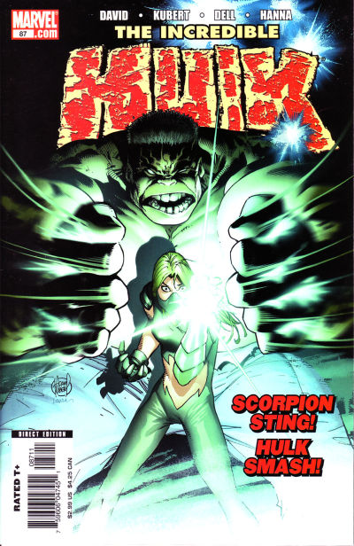 Cover for Incredible Hulk (Marvel, 2000 series) #87
