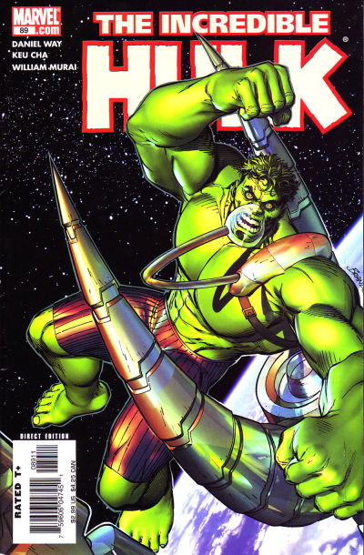 Cover for Incredible Hulk (Marvel, 2000 series) #89