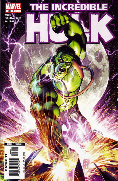 Cover for Incredible Hulk (Marvel, 2000 series) #90