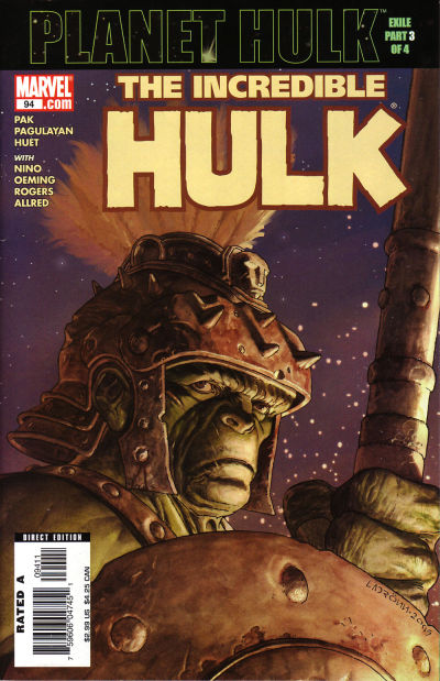 Cover for Incredible Hulk (Marvel, 2000 series) #94
