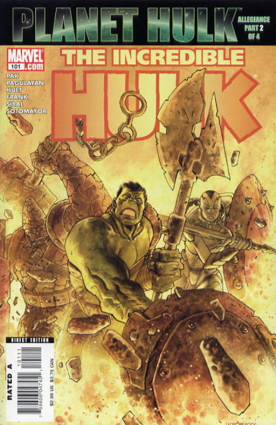 Cover for Incredible Hulk (Marvel, 2000 series) #101