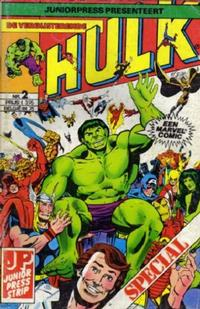 Cover Thumbnail for De verbijsterende Hulk Special (JuniorPress, 1983 series) #2
