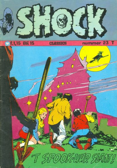 Cover for Shock Classics (1972 series) #23