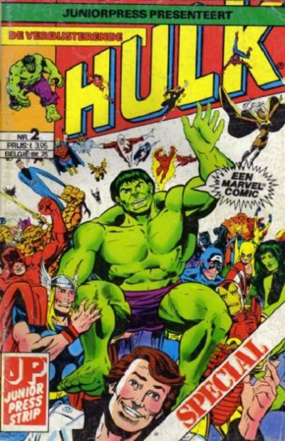 Cover for De verbijsterende Hulk Special (JuniorPress, 1983 series) #2