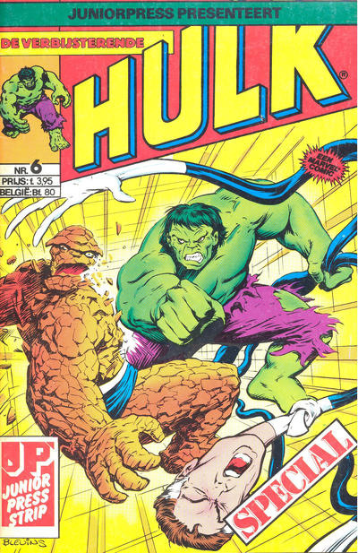 Cover for De verbijsterende Hulk Special (JuniorPress, 1983 series) #6