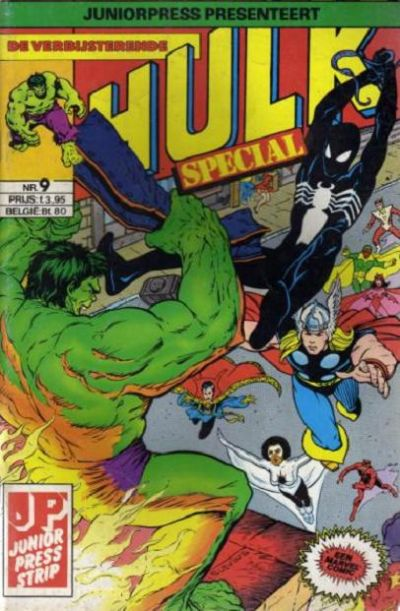 Cover for De verbijsterende Hulk Special (JuniorPress, 1983 series) #9