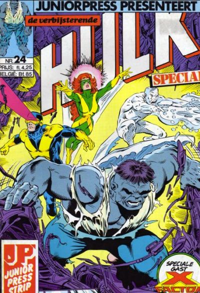 Cover for De verbijsterende Hulk Special (JuniorPress, 1983 series) #24