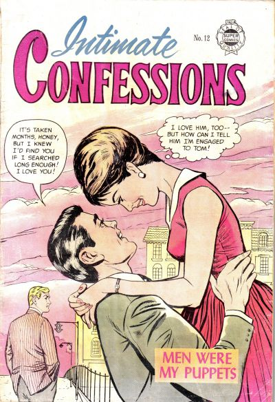 Cover for Intimate Confessions (I. W. Publishing; Super Comics, 1958 series) #12