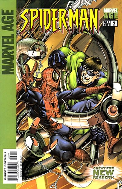 Cover for Marvel Age Spider-Man (Marvel, 2004 series) #2