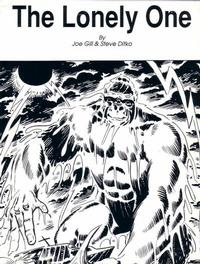 Cover Thumbnail for The Lonely One (Robin Snyder and Steve Ditko, 1989 series)