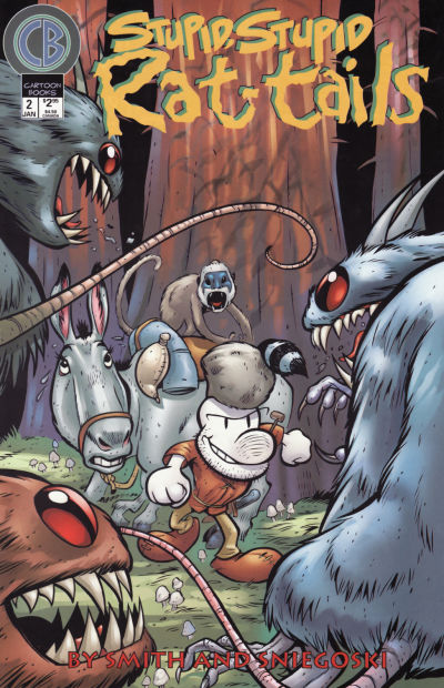 Cover for Stupid, Stupid Rat Tails (1999 series) #2