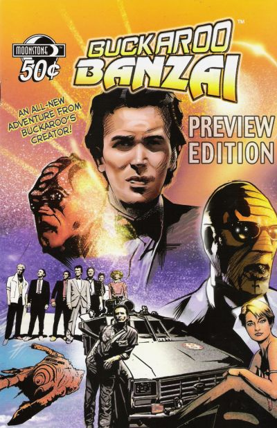 Cover for Buckaroo Banzai Return of the Screw Preview (Moonstone, 2006 series)