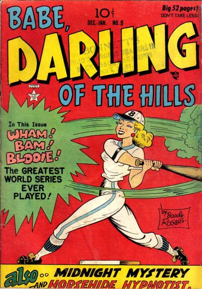 Cover for Babe, Darling of the Hills (Prize, 1949 series) #v2#3 (9)