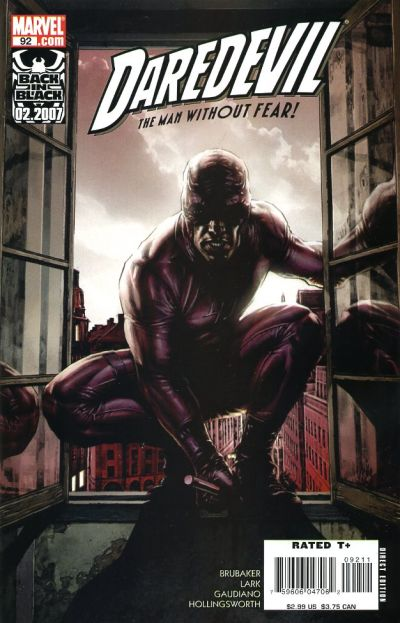 Cover for Daredevil (1998 series) #92