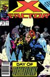 Cover Thumbnail for X-Factor (1986 series) #70 [Newsstand Edition]