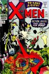 Cover Thumbnail for The X-Men (1963 series) #23 [British Price Variant]