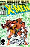 Cover for X-Men Annual (Marvel, 1970 series) #11 [Direct Edition]