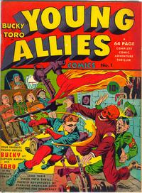 Cover for Young Allies (1941 series) #1