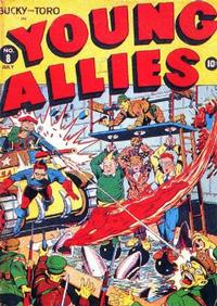 Cover Thumbnail for Young Allies (Marvel, 1941 series) #8