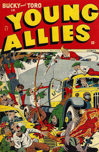 Cover Thumbnail for Young Allies (Marvel, 1941 series) #17