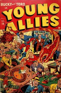Cover for Young Allies (1941 series) #19
