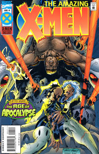 Cover Thumbnail for Amazing X-Men (Marvel, 1995 series) #4 [Direct Edition]