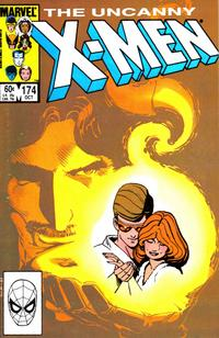 Cover Thumbnail for The Uncanny X-Men (Marvel, 1981 series) #174 [Direct Edition]