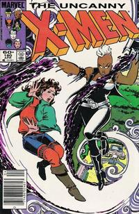 Cover Thumbnail for The Uncanny X-Men (Marvel, 1981 series) #180 [Newsstand Edition]