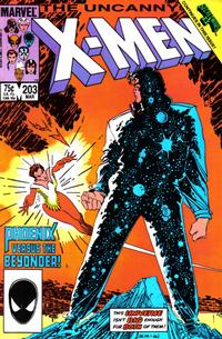 Cover Thumbnail for The Uncanny X-Men (Marvel, 1981 series) #203 [Direct Edition]