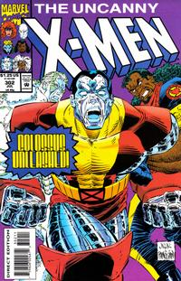 Cover Thumbnail for The Uncanny X-Men (Marvel, 1981 series) #302 [Direct Edition]