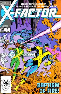 Cover Thumbnail for X-Factor (Marvel, 1986 series) #1 [Direct Edition]
