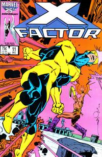 Cover Thumbnail for X-Factor (Marvel, 1986 series) #11 [Direct Edition]
