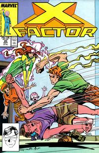 Cover Thumbnail for X-Factor (Marvel, 1986 series) #20 [Direct Edition]