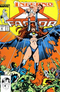 Cover Thumbnail for X-Factor (Marvel, 1986 series) #37 [Direct Edition]