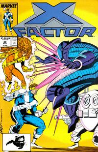 Cover Thumbnail for X-Factor (Marvel, 1986 series) #40 [Direct Edition]