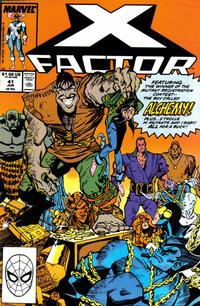 Cover Thumbnail for X-Factor (Marvel, 1986 series) #41 [Direct Edition]