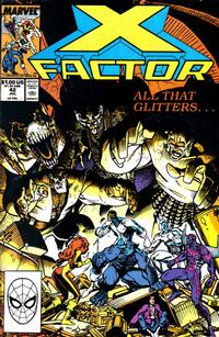 Cover Thumbnail for X-Factor (Marvel, 1986 series) #42 [Direct Edition]