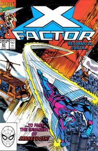 Cover Thumbnail for X-Factor (Marvel, 1986 series) #51 [Direct Edition]