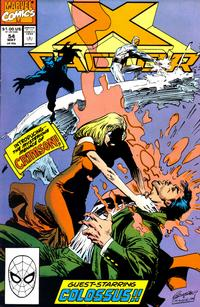 Cover for X-Factor (1986 series) #54 [Direct Edition]