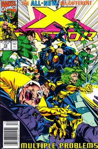 Cover Thumbnail for X-Factor (Marvel, 1986 series) #73 [Newsstand Edition]