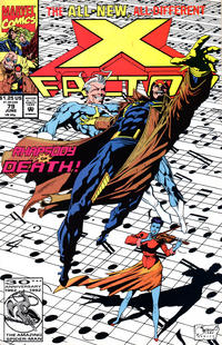Cover Thumbnail for X-Factor (Marvel, 1986 series) #79 [Direct Edition]