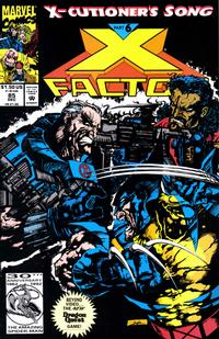 Cover Thumbnail for X-Factor (Marvel, 1986 series) #85 [Direct Edition]