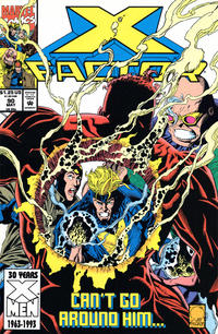 Cover Thumbnail for X-Factor (Marvel, 1986 series) #90 [Direct Edition]